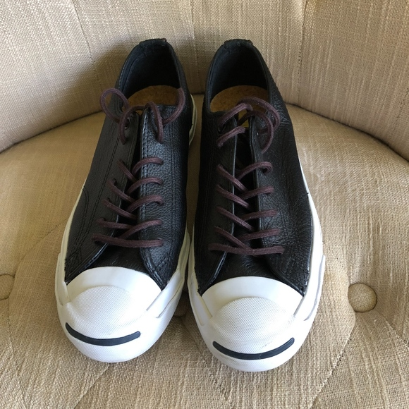 38e04faa3eba Converse Other - Converse Jack Purcell Leather Smiley Sneakers
